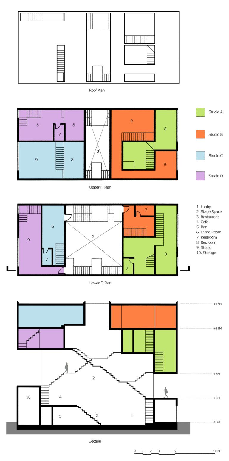 202_3 Intertwined Dwelling drawings yereempark
