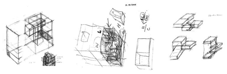 202_3 Intertwined Dwelling sketch yereempark